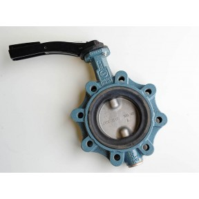 Ductile iron lugged pattern 'WRAS approved' butterfly valve  fig 135